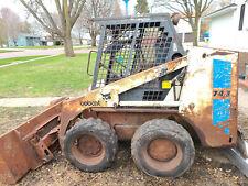 Bobcat 743 Skid Steer Loader For Parts Or Repair
