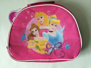 DISNEY PRINCESS INSULATED LUNCH BAG CHILDS NURSERY SCHOOL GIRLS PICNICS OUTINGS
