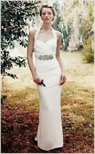 NICOLE MILLER MARILYN BRIDAL WEDDING GOWN DRESS FJ0019 $1200 SZ 0 NWT