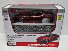 Maisto 25118 - Ferrari California T (Closed Top)  Red      1:24 Diecast Model