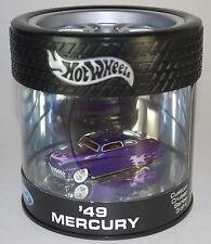 Hot Wheels OIL CAN Custom Cruiser Series '49 MERCURY PURPLE RARE HTF