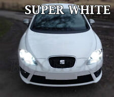 SEAT LEON MK2 HEADLIGHT LAMP LIGHT BULBS- XENON 6000K WHITE