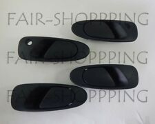 Set Outer Front Rear Door Handle for 92-95 Honda Civic DX LX