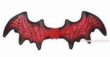 Halloween Party Accessory Red Vampire Bat Wing Kids Adult Unisex Costume Prop