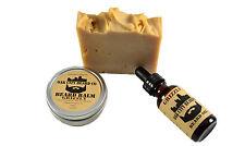 OakCityBeardCo. (Grizzly) Beard Oil + Beard Balm + Beard Soap