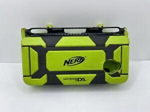 Nintendo DS Lite NERF ARMOR Case Green & black