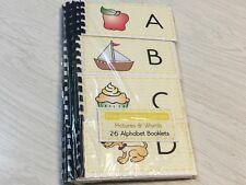 Montessori materials - Pre-Reading  Series - 26 Pre-reading Alphabet Booklets -