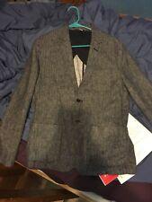 Goodfellow Blue Linen Blazer Jacket Mens Size M