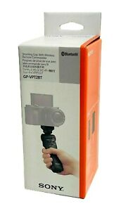 NEW SONY GP-VPT2BT Shooting Grip With Bluetooth Wireless Tripodwith Pouch