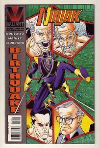Ninjak #19 - August 1995 Valiant - Colin King as Ninjak - Near Mint (9.4)