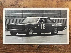 1970 Fleer Dragstrips Auto Racing Car #16 Daniel Dieringer NASCAR VG-VG/EX