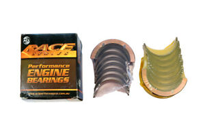 ACL EL Hybrid AU BA BF FG Falcon 4L Race Series Main Bearings 360 Degree Thru...