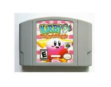 For N64 Kirby 64 The Crystal Shards Cartridge game Card English US version