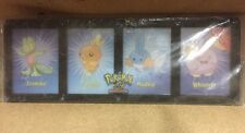 Official Pokemon Four Card Collectors Frame With Stand For Card Game