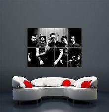 AVENGED SEVENFOLD musica gruppo Banda Nero Bianco Gigante Arte Poster Stampa wa439