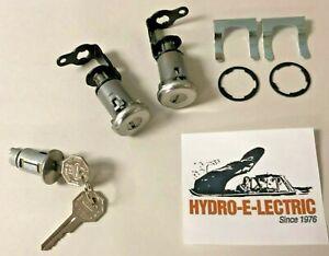 1959-1964 Cadillac 2-Door Hardtop/Convertible Ignition & Door Lock Set- GM keys