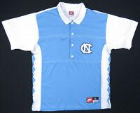 Vintage 90s North Carolina Tar Heels UNC Nike NCAA Basketball Shooting Shirt L