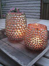"""Windlicht """"Edel L"""" gold Tischdeko VintageTeelichthalter Kerzenhalter Landhaus"""