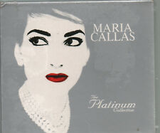 MARIA CALLAS BOX 3 CD THE PLATINUM COLLECTION 2005 nuovo SIGILLATO sealed ITALY