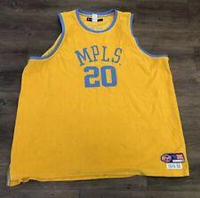 09e6ca49 Hardwood Classics Gary Payton MPLS Lakers NBA Reebok Basketball D'funkd  Size 3XL
