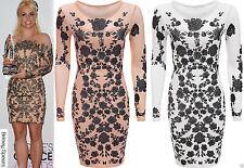 Mesh Party Short/Mini Dresses