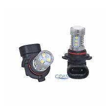 CREE 15 High Power Projector Samsung White LED DRL Fog Light Bulb 9005 HB3 Pair