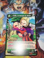 Carte DRAGON BALL SUPER : KRILLIN, LA MARQUE DU DESTIN - BT2 - 081 C  x 3