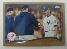 2014 Topps #321 MARIANO RIVERA Gold Foil Parallel 1060/2014