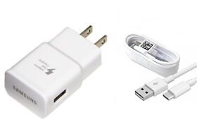 SAMSUNG FAST CHARGER+TYPE C USB CABLE FOR SAMSUNG GALAXY S10, S10 PLUS, S10E