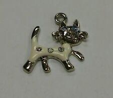 Bracelet phone necklace charm White Cat