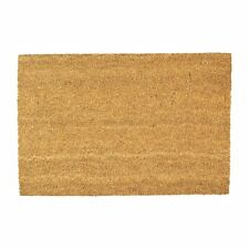 Door Mat Non-Slip PVC Coir, 40 x 60cm - Plain - Indoor Welcome Mats Doormats