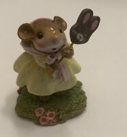 Wee Forest Folk Holding a Bunny SUPER RARE - 2009 Christmas Holiday Sale
