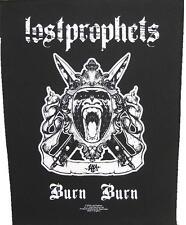 "LOST PROPHETS RÜCKENAUFNÄHER / BACKPATCH # 1 ""BURN BURN"""