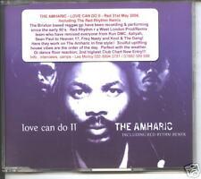 the amharic - love can do II  maxi cd