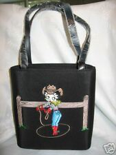 Betty Boop purse handbag Bag Embroider LICENSED new