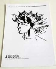 Partition sheet music CLAUDE NOUGARO : Je Suis Sous * 60's
