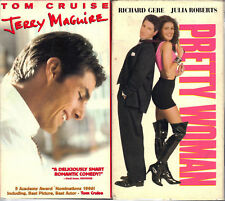 Jerry Maguire & Pretty Woman - 2 Romantic VHS Tapes