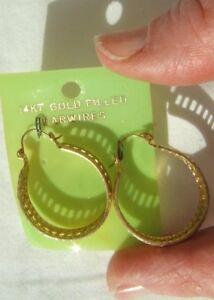 14 Kt Gold Filled Hoop Earring