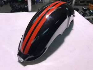 Triumph Rocket 3 Front Mudguard in Red & Black
