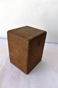 """Vintage Habana Coronas De Luxe Cigar Advertising Case Box Empty Collectibles """"F"""