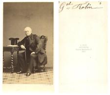 A. Ken, Le général Rolin  CDV vintage albumen carte de visite,  Tirage albumin