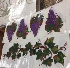 Grapes And Vines Wall Decal Creative Art Transfers Wall Decor Tatouage