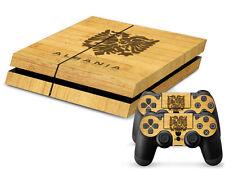 Sony PS4 Playstation 4 Skin Design Aufkleber Schutzfolie Set - Albania 2 Motiv