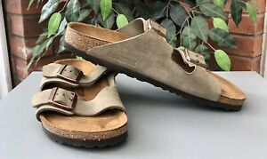 Birkenstock Arizona Ladies Sandals Stone Size 41/7.5