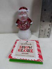 "2013 Hallmark Santa Mini 3"" Snow Globe"