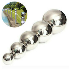 50/100/120/150mm Stainless Steel Mirror Glitter Round Ball Garden Sphere Hollow
