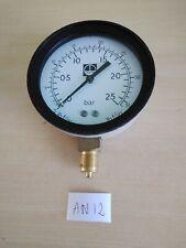 "63 mm Manometro Orizzontale 0//2,5 Bar G 1//4 /"" Industria"
