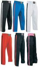 Kickboxing Full Contact Trouser Polyester/Satin Karate Bottoms Martial Arts Kids