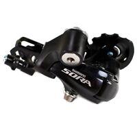 Shimano SORA RD-3500-SS 9 Speed Rear Derailleur, Short Cage, Black