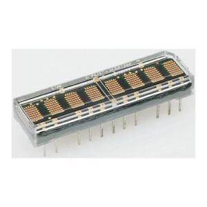 1 x Broadcom HCMS-2965 4 Digit Alphanumeric LED Display, 7 x 5 Dot Matrix Red